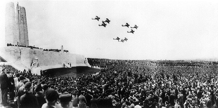 2-Vimy flypast 1936
