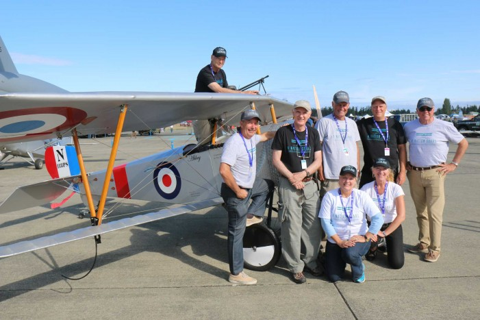 3-the Team at the Comox airshow