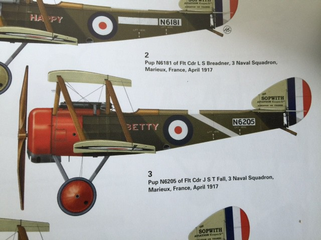 6-Sopwith Pup being built up at the Canadian Museum of Flight