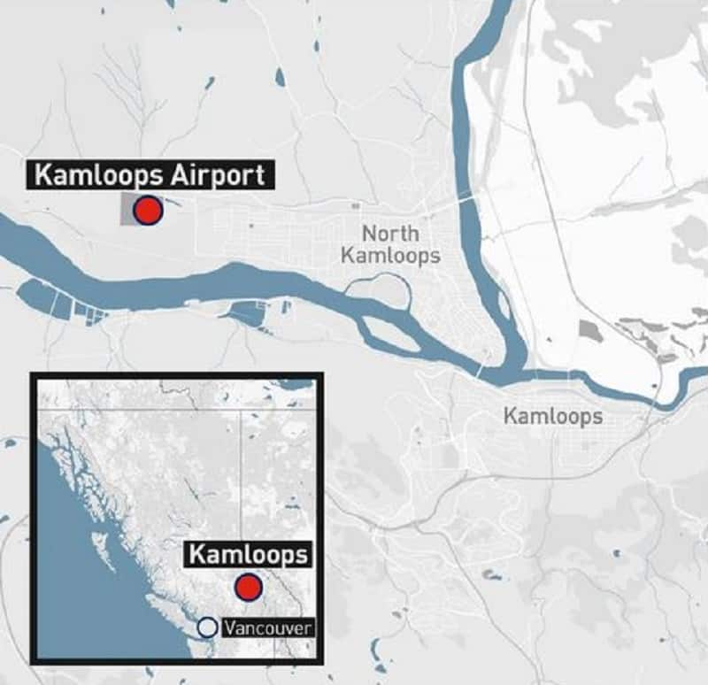 Kamloops Airport graphic